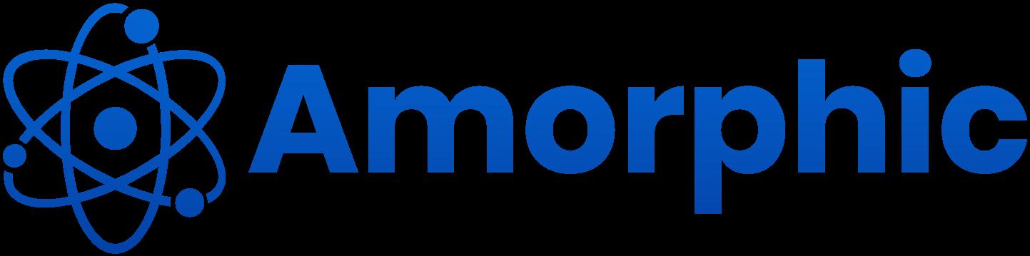 Amorphic wordmark logo