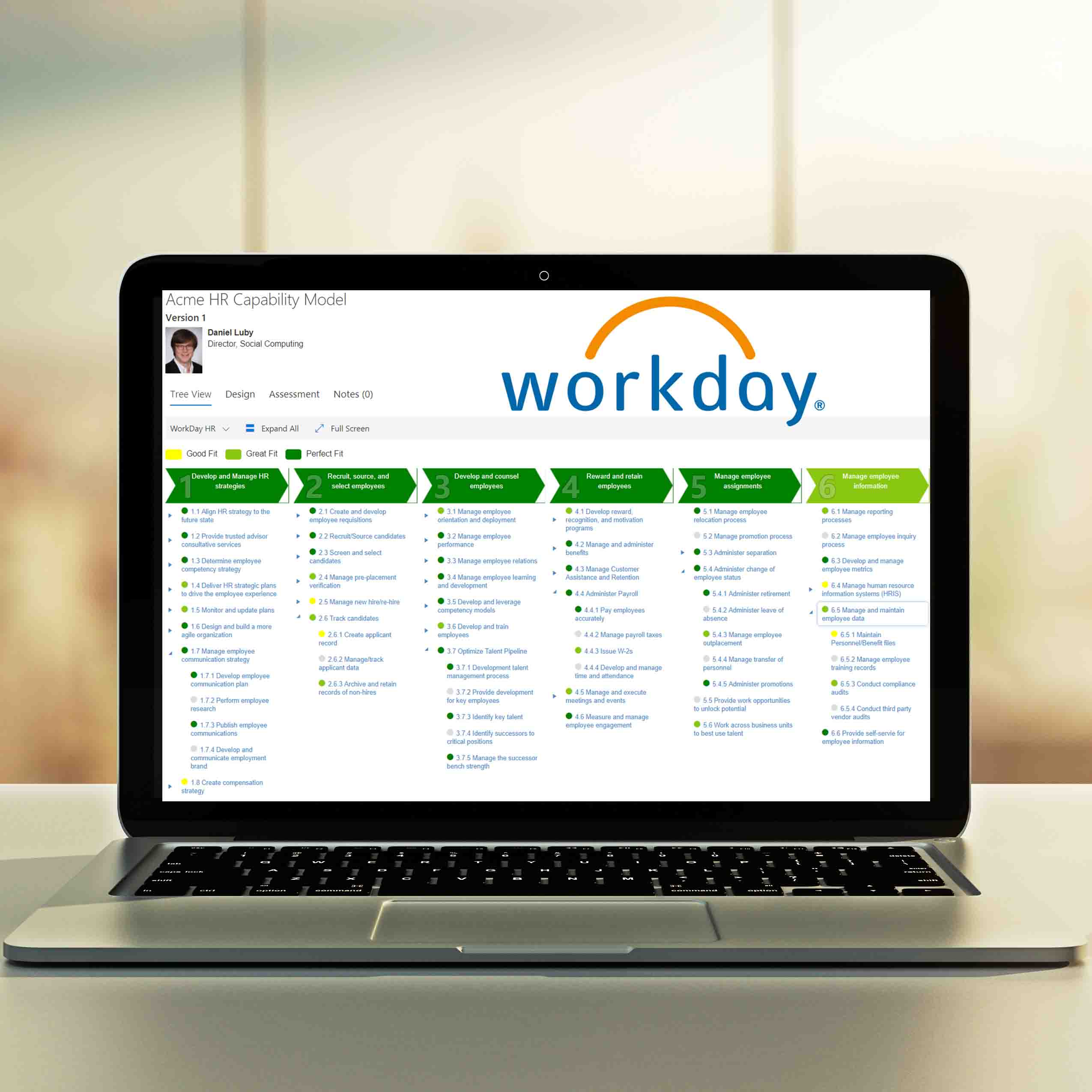 WorkFit - WorkDay Software Selection