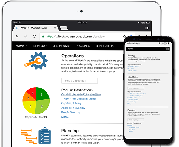 Enterprise WorkFit - Any Device