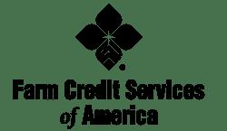 Farm Credit Services of America Logo Black