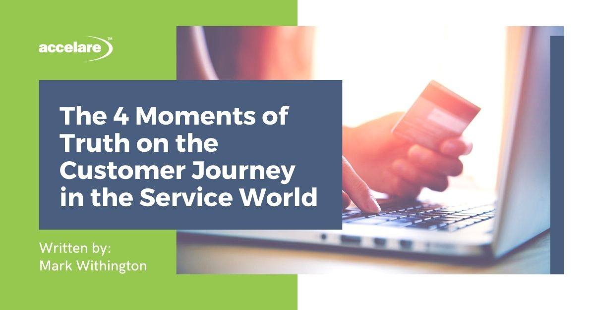 The 4 Moments of Truth on the Customer Journey in the Service World