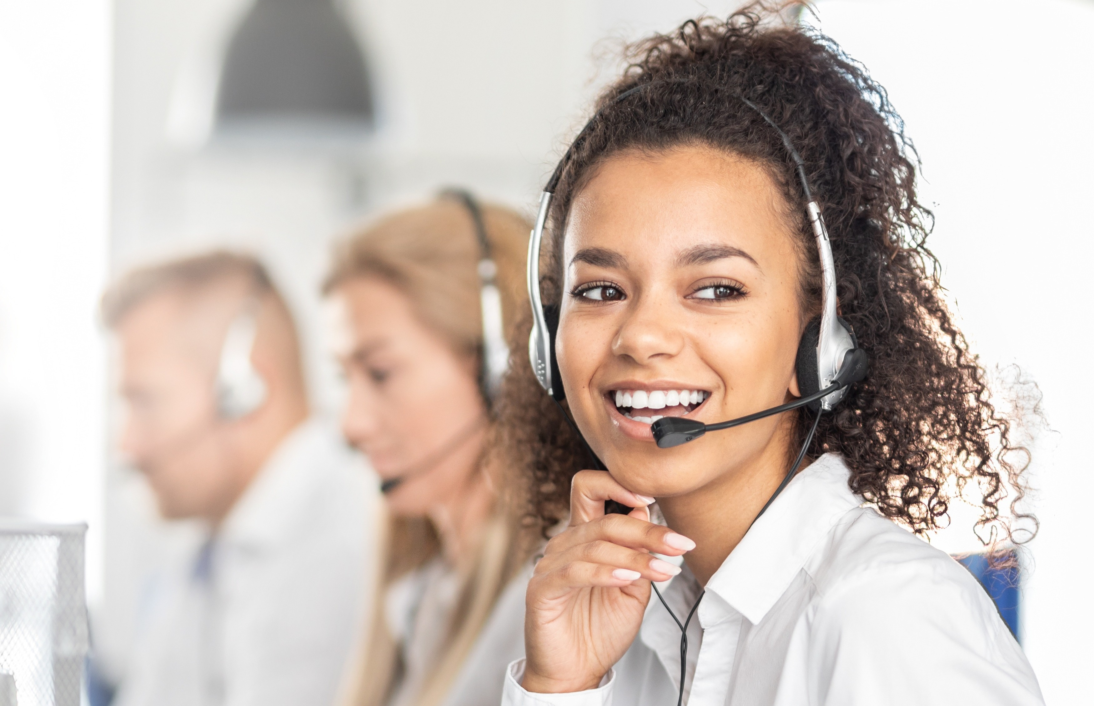 Women on Customer Service Team